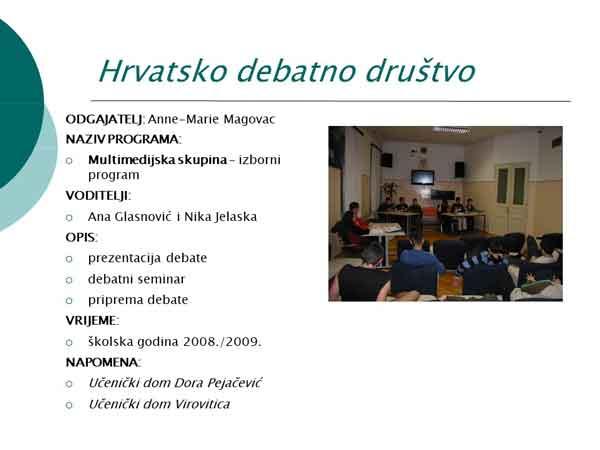 Debata na Mažurancu
