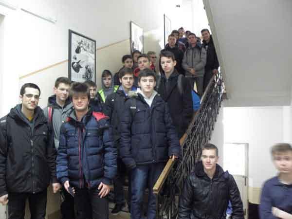 Učenici Prve tehničke škole Tesla