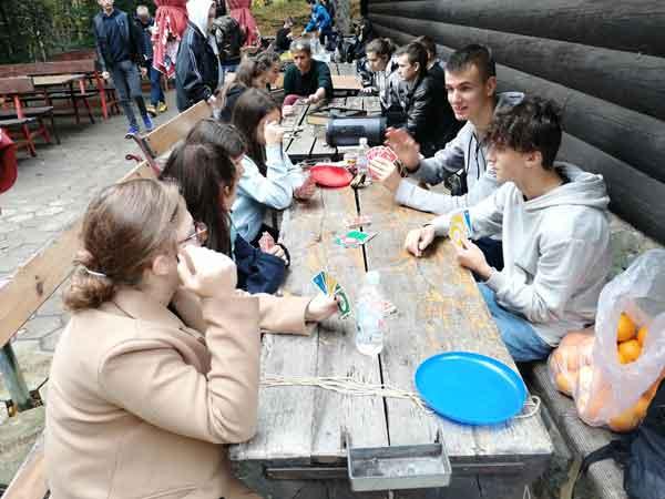 Društvene igre na Mažurancu