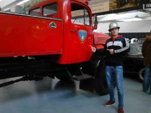Vatrogasno vozilo, Muzej automobila Ferdinand Budicki u Zagrebu