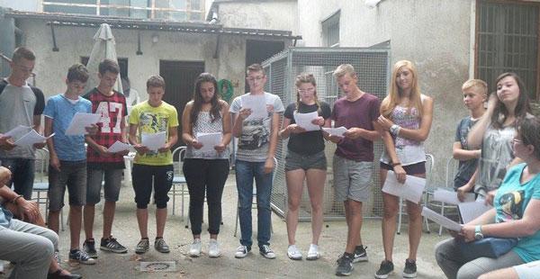 Generacija na daljinu Prvi dan Odgojna skupina A