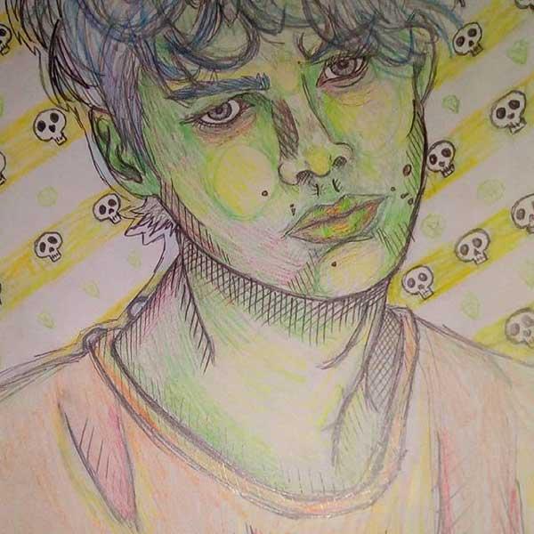 Zombie Boy autorice Ive Petak