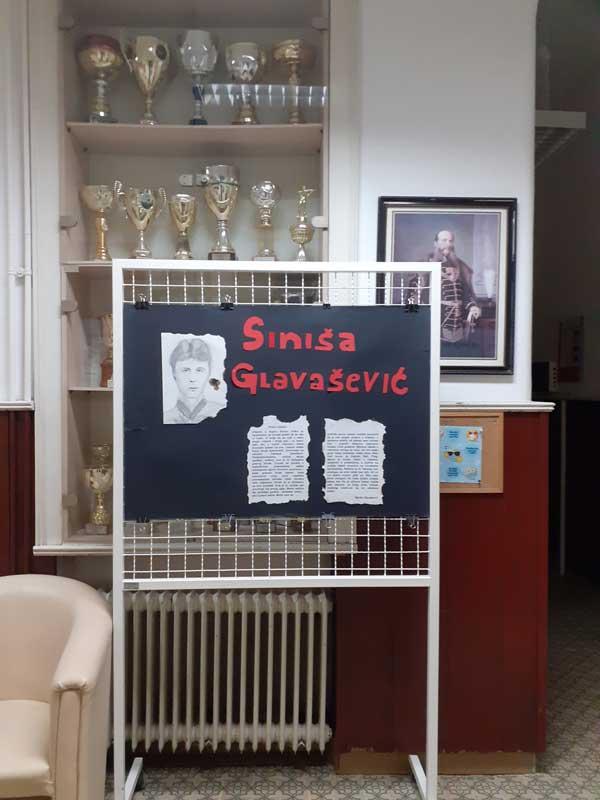 Učenički rad - plakat: Siniša Glavašević, Priča o ljubavi