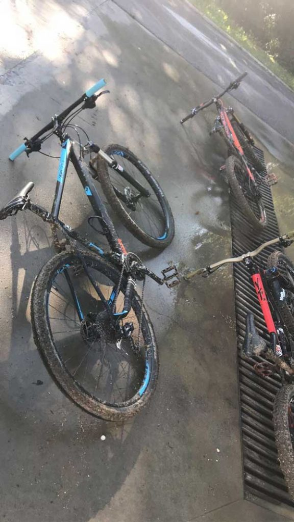 Bicikli na tlu